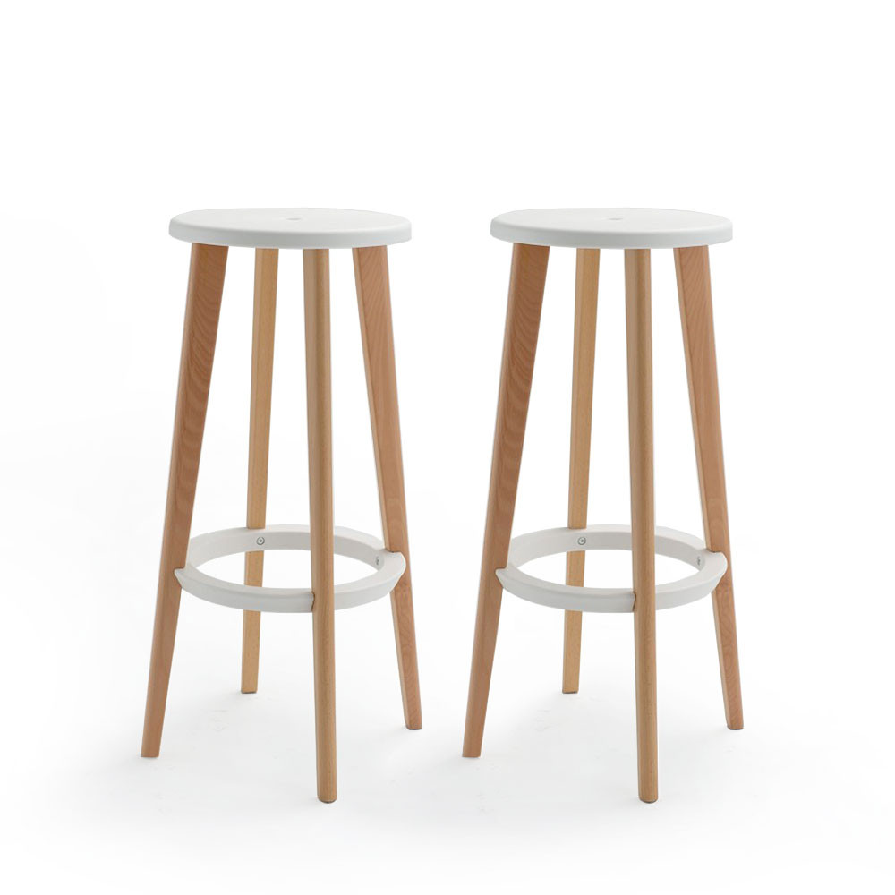lot de 2 tabourets de bar harry 39 s by drawer. Black Bedroom Furniture Sets. Home Design Ideas