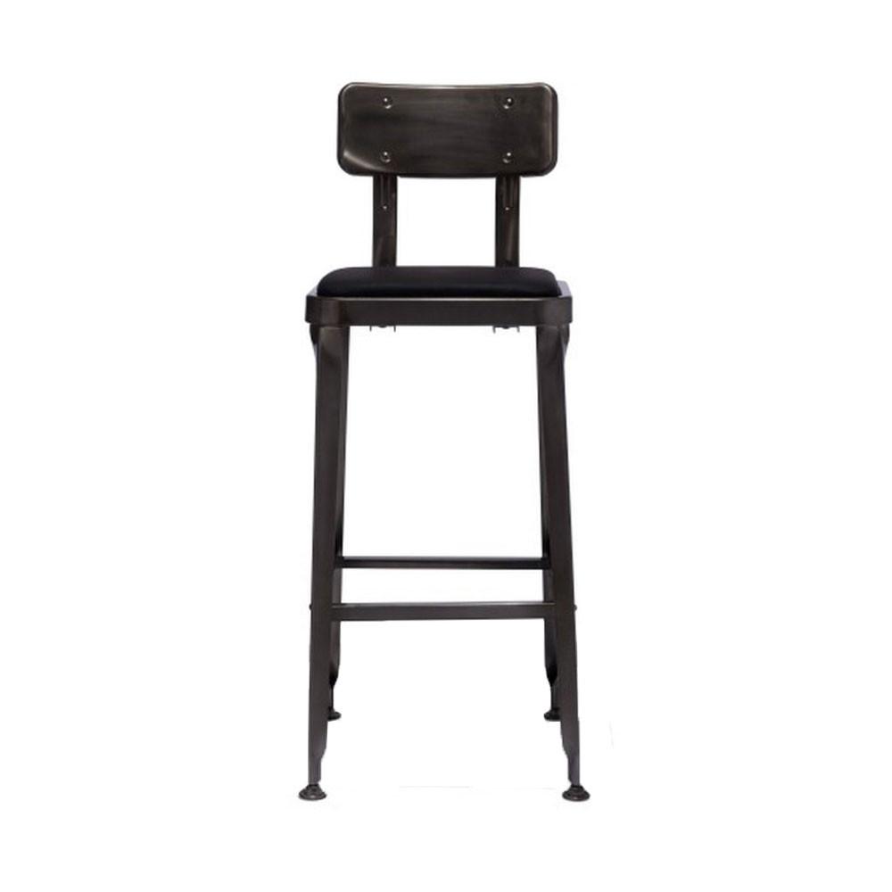 tabouret de bar industriel style starbuck benvenuto par drawer. Black Bedroom Furniture Sets. Home Design Ideas