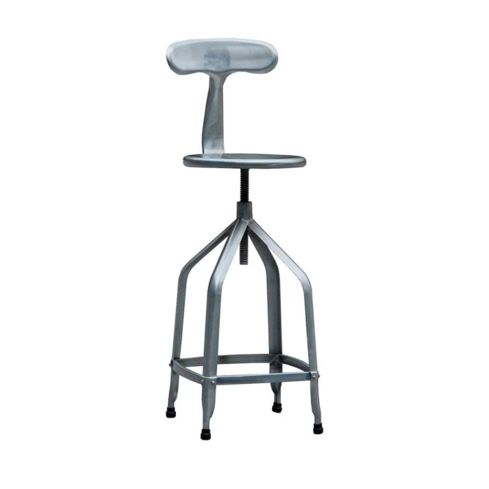tabouret de bar industriel hauteur r glable marx par drawer. Black Bedroom Furniture Sets. Home Design Ideas