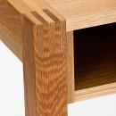 Bureau en chêne tiroir et niche NewEst détails 3