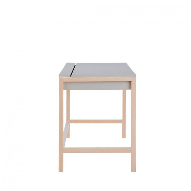 Bureau bois et laque, tiroir et niche Northgate