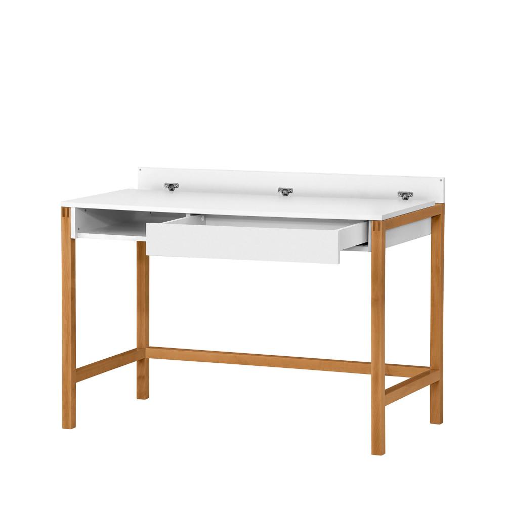 bureau bois et laque tiroir et niche northgate drawer. Black Bedroom Furniture Sets. Home Design Ideas