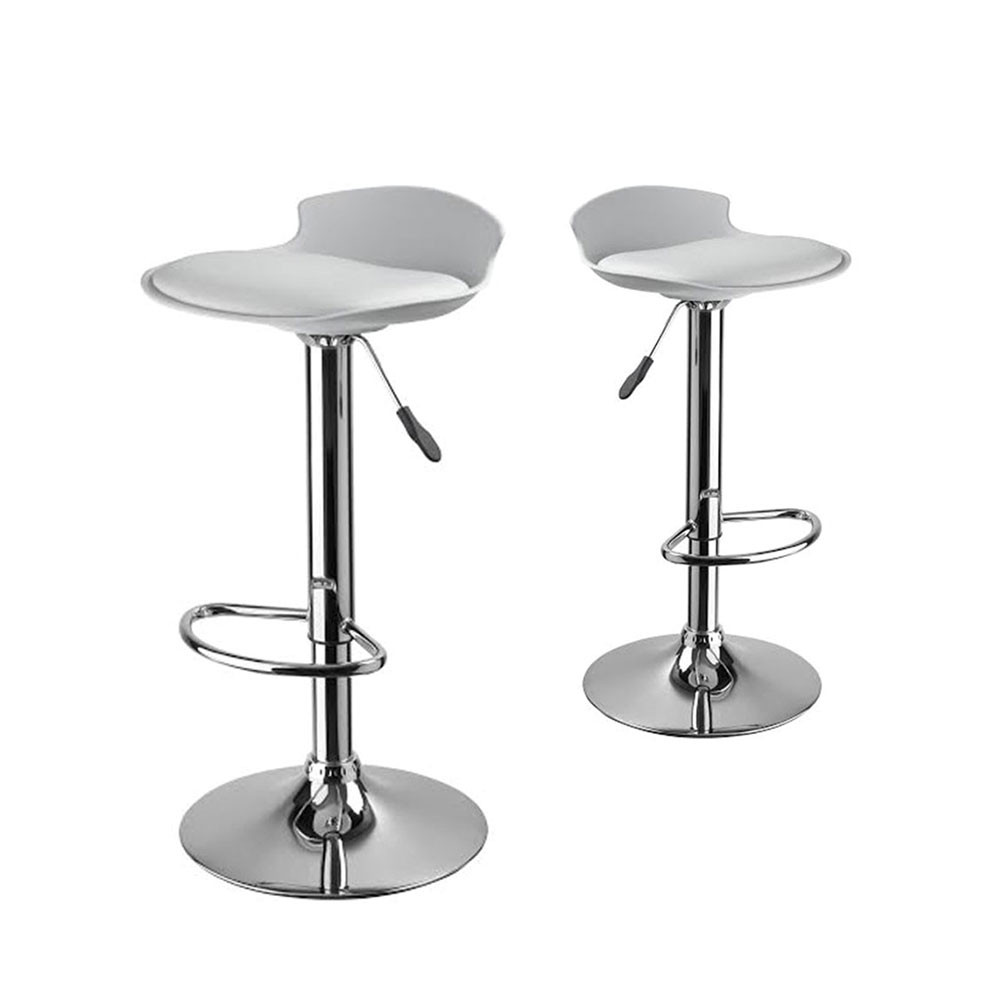 lot de 2 tabourets de bar design de. Black Bedroom Furniture Sets. Home Design Ideas