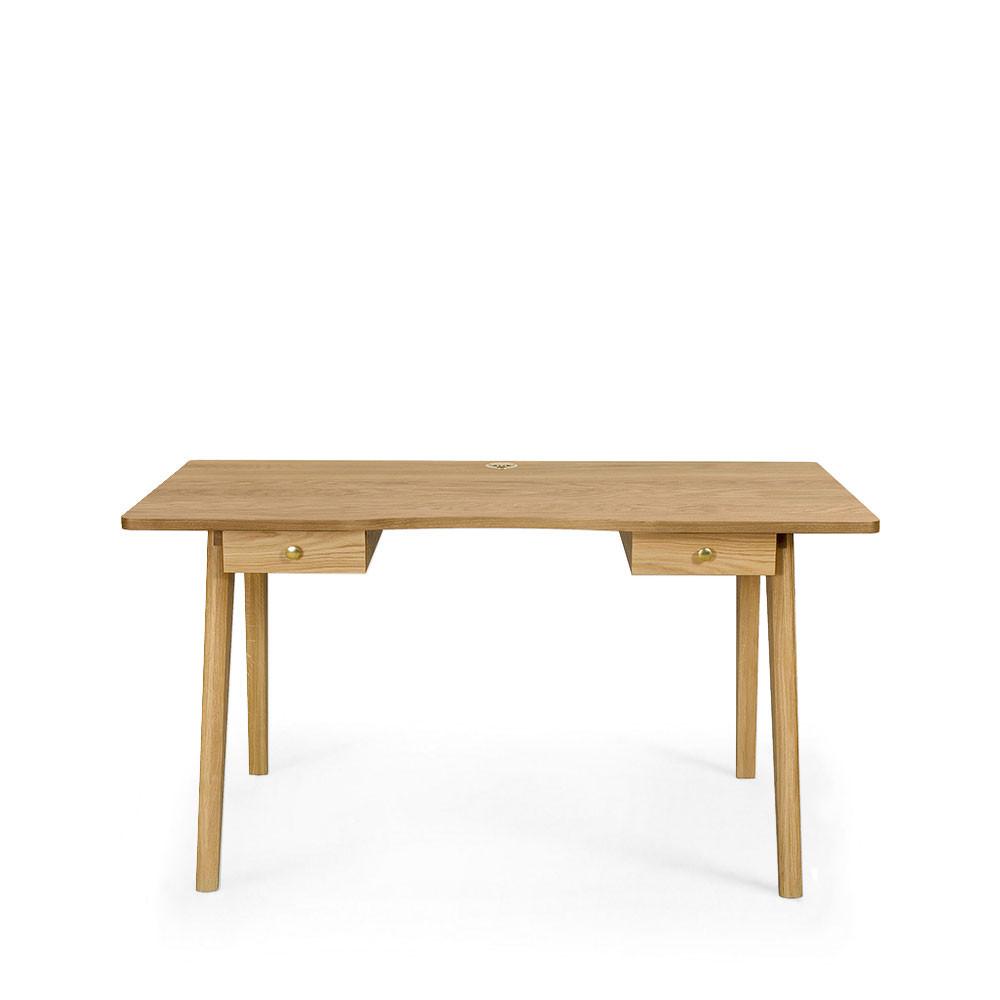 bureau en bois 2 tiroirs nice desk drawer. Black Bedroom Furniture Sets. Home Design Ideas