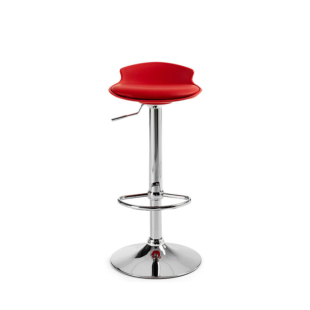 Lot de 2 tabourets de bar design uma one by - Tabouret de bar lot de 2 ...