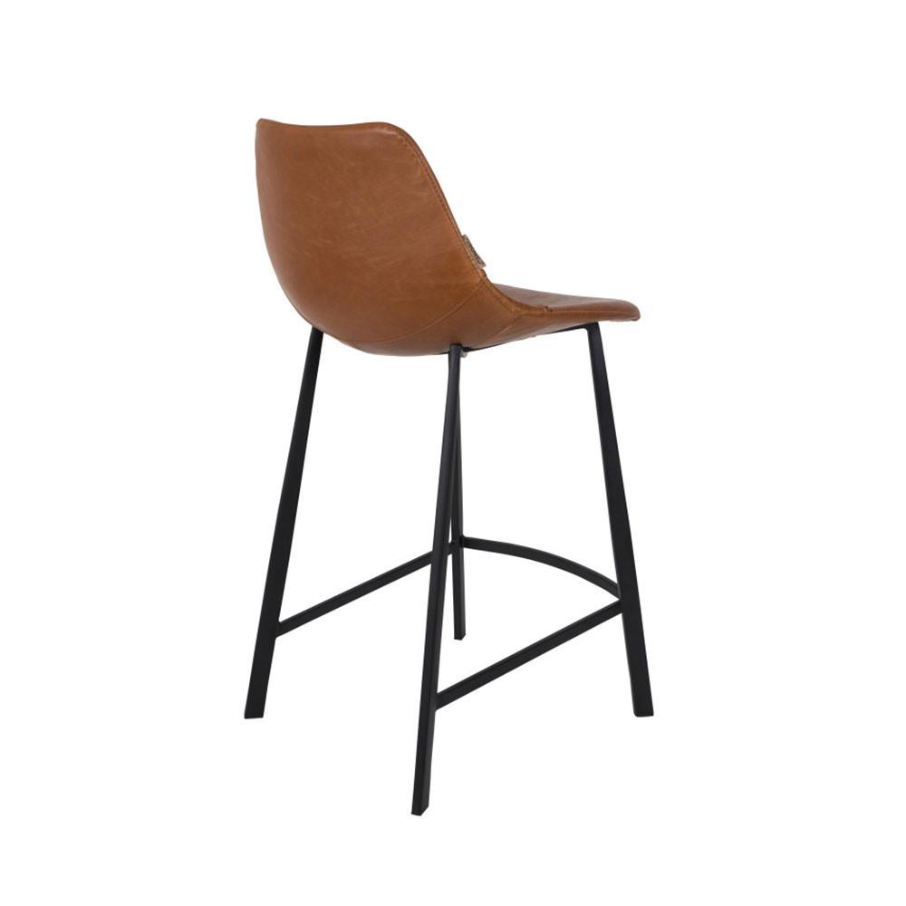 lot de 2 tabourets de bar vintage franky dutchbone. Black Bedroom Furniture Sets. Home Design Ideas