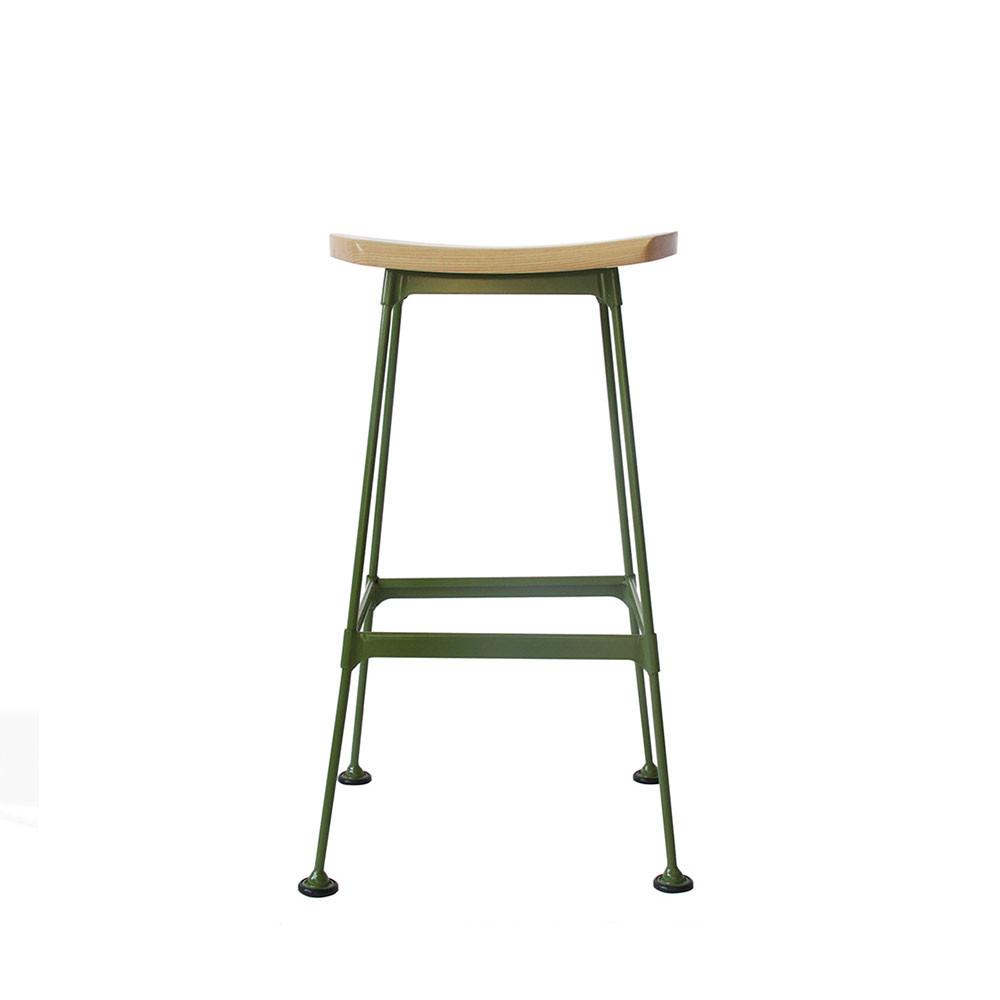 Tabouret Metal Et Bois - Tabouret métal et bois lounge Stork Drawer