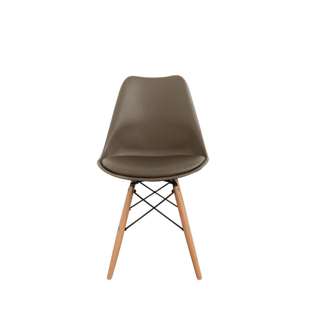 Lot de 2 chaises design nielsen par for Prix chaise bois