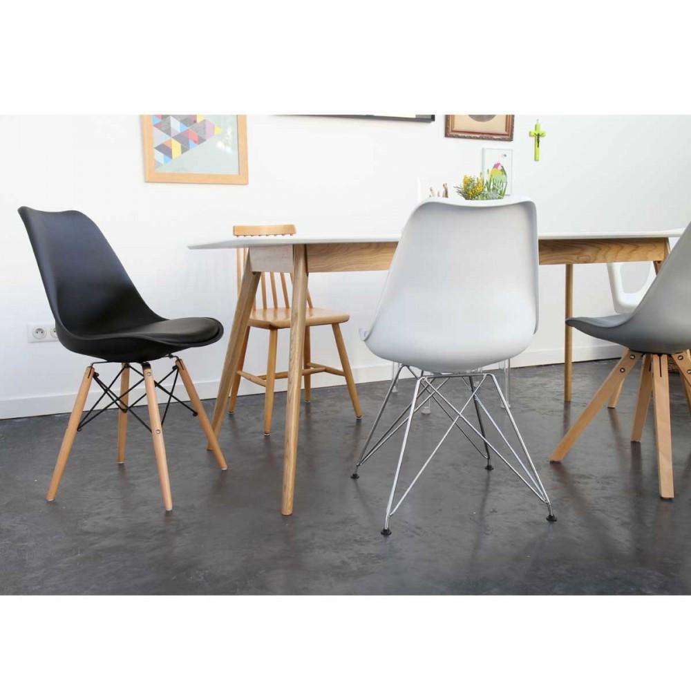 chaise tournante design chaise design pied bois miss b par scab with chaise tournante design. Black Bedroom Furniture Sets. Home Design Ideas