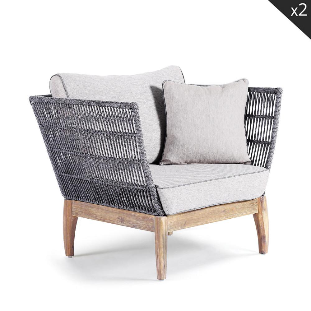 salon de jardin lounge en bois nokor drawer. Black Bedroom Furniture Sets. Home Design Ideas