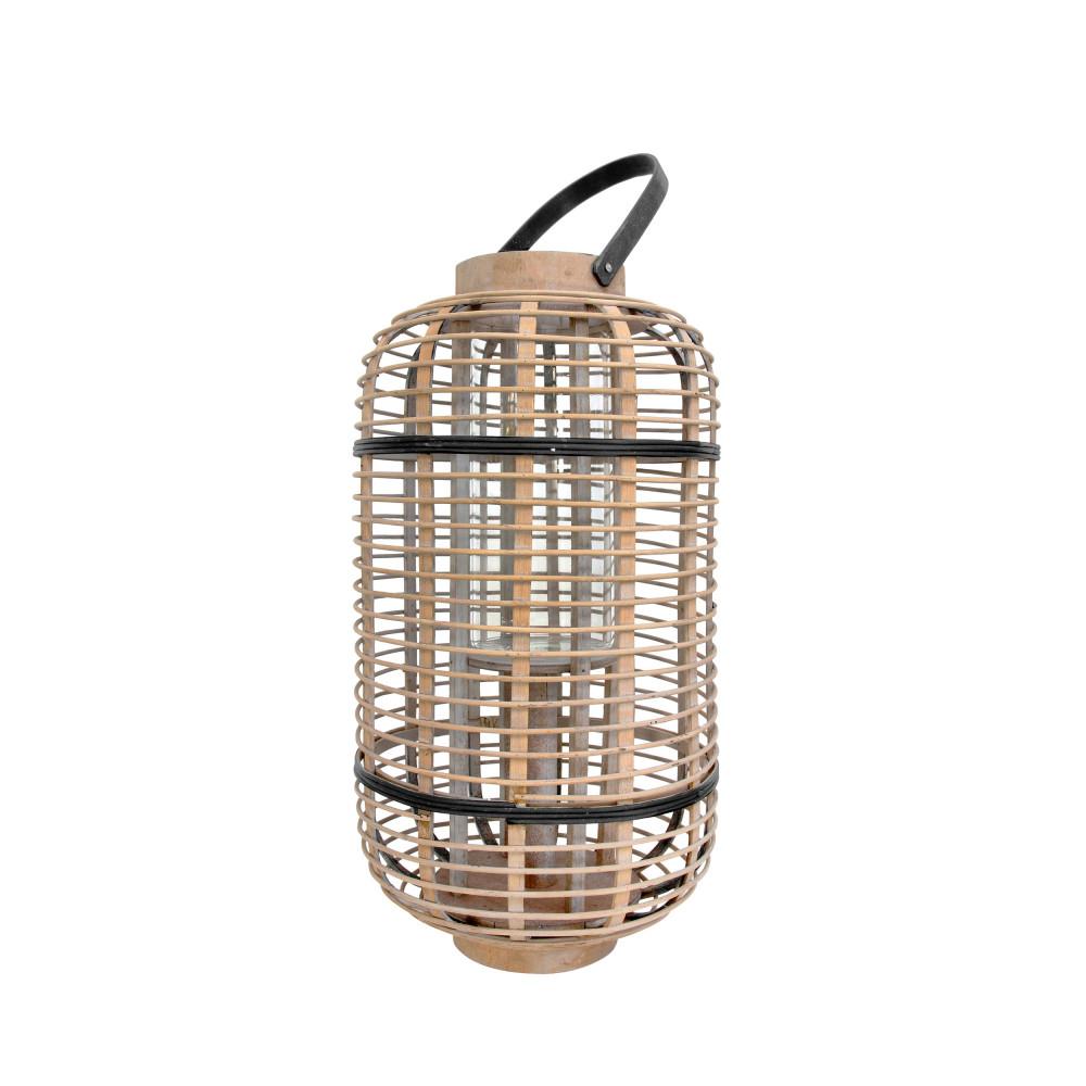 Lanterne en bambou mila drawer for Lanterne deco exterieur