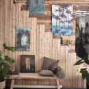 Déco murale imprimé jungle Fuye