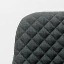 Chaise tissu et métal Tigo Label 51 Gris anthracite