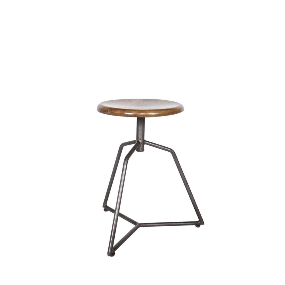 tabouret industriel corner par drawer. Black Bedroom Furniture Sets. Home Design Ideas