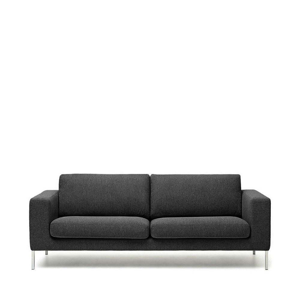 canap 2 places tissu et pieds m tal biki by modalto drawer. Black Bedroom Furniture Sets. Home Design Ideas