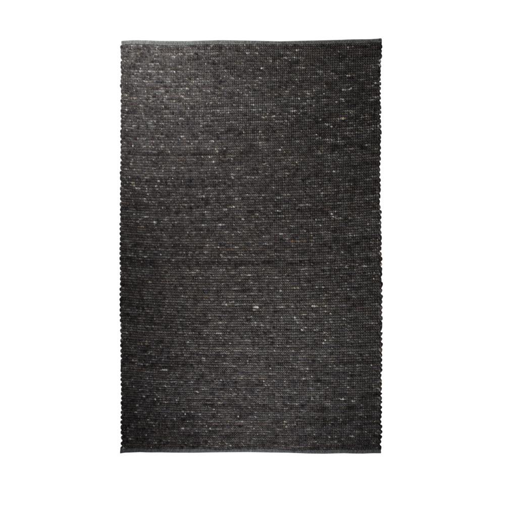 Tapis naturel gris anthracite pure zuiver by drawer - Tapis gris anthracite ...