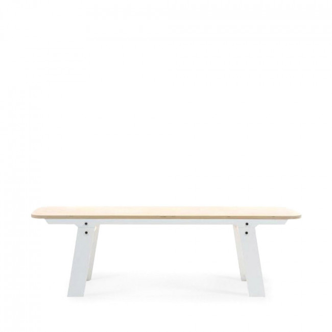 Banc bois design Slim Bench