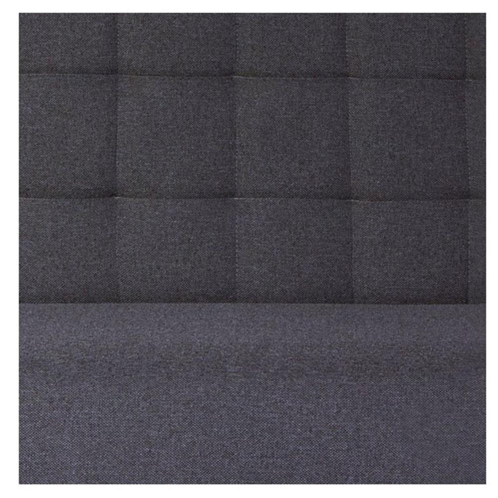 un l gant banc pauwel avec dossier capitonn en tissu. Black Bedroom Furniture Sets. Home Design Ideas