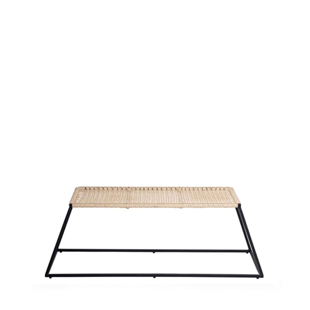 banc design m tal trapez bloomingville. Black Bedroom Furniture Sets. Home Design Ideas