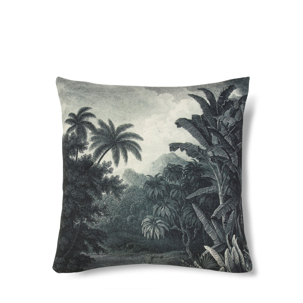 Coussin imprimé jungle Bay HK living   Drawer