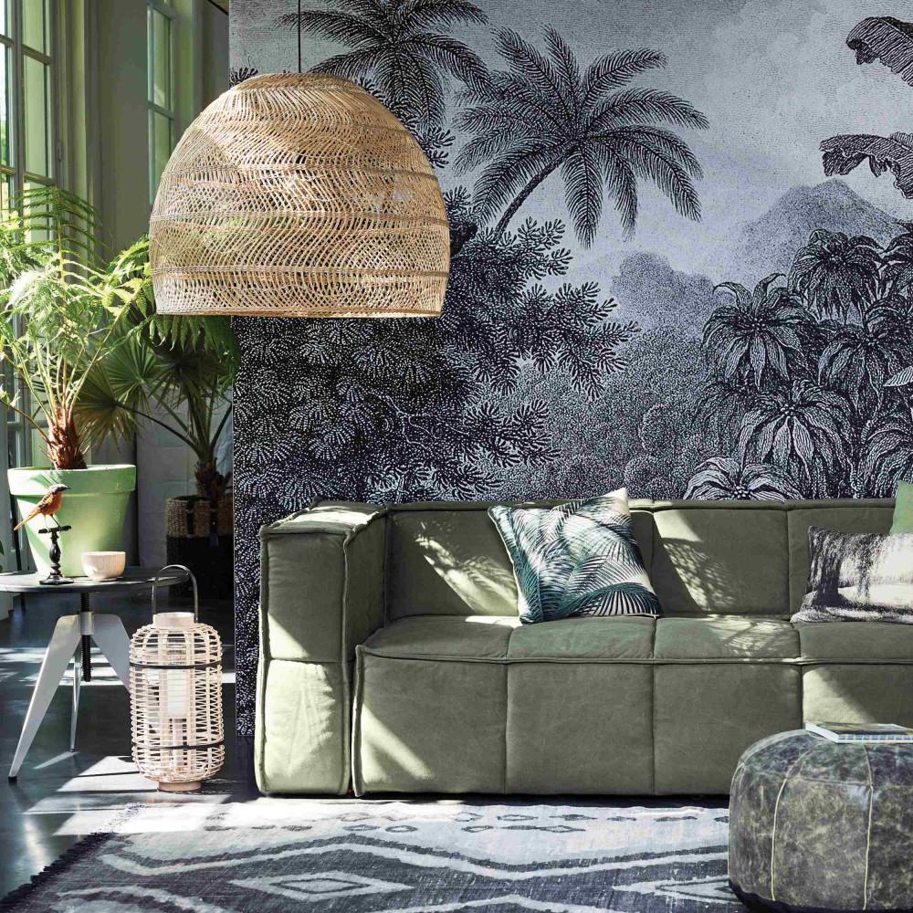 coussin imprim palmier baki hk living drawer. Black Bedroom Furniture Sets. Home Design Ideas