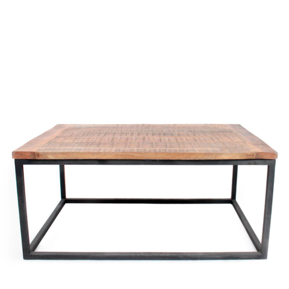 Table basse bois et m tal dunk label51 drawer - Table bois et metal ...