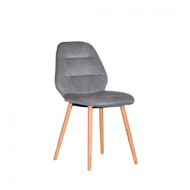 Chaise tissu et bois Vita Label 51