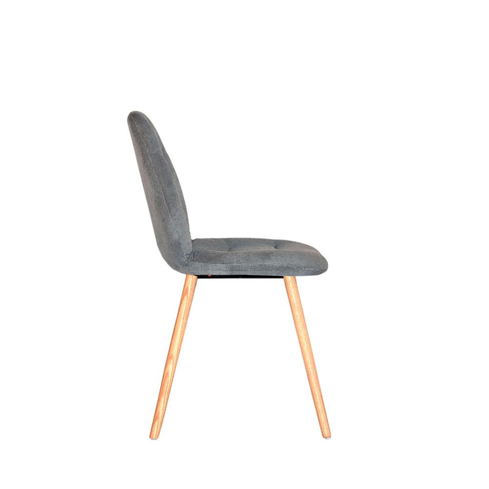 chaise en tissu et bois vita label51 drawer. Black Bedroom Furniture Sets. Home Design Ideas