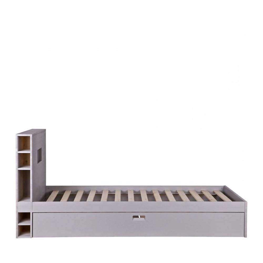cadre de lit avec tiroir maison design. Black Bedroom Furniture Sets. Home Design Ideas