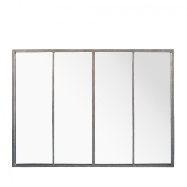 Miroir verrière zinc 90x120 Frank