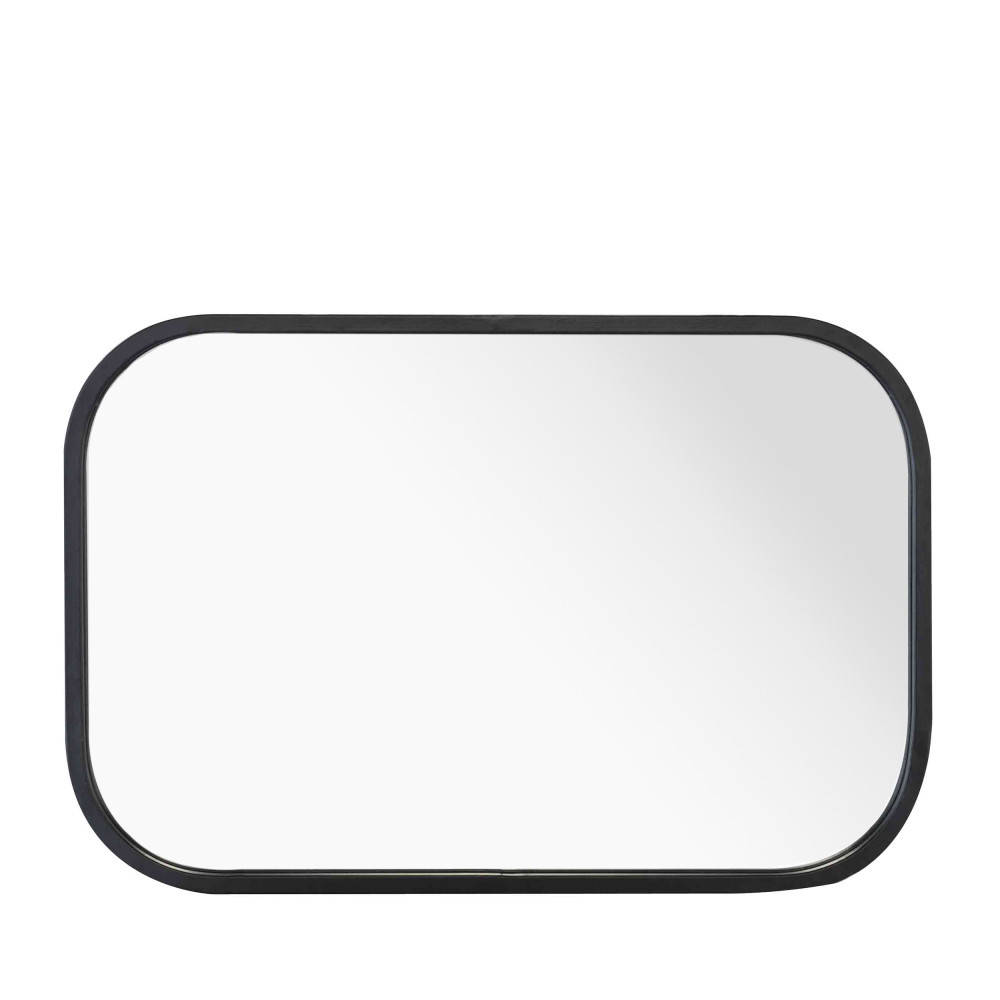 Miroir rectangulaire industriel axel by drawer for Miroir rectangulaire noir