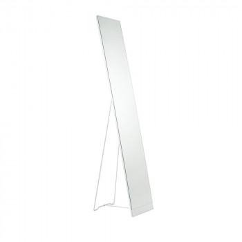 Miroir sur pied blanc Stand