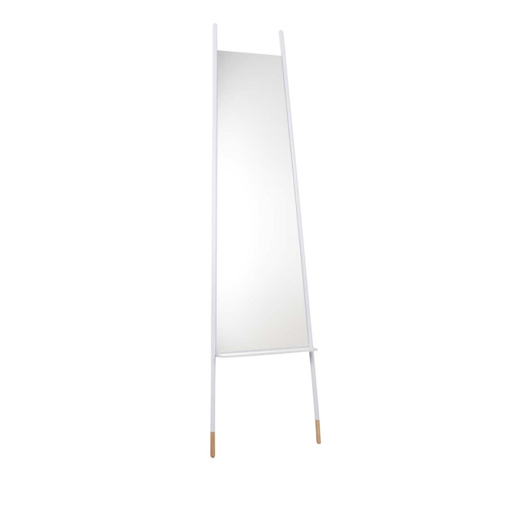 miroir sur pied blanc ladder zuiver. Black Bedroom Furniture Sets. Home Design Ideas