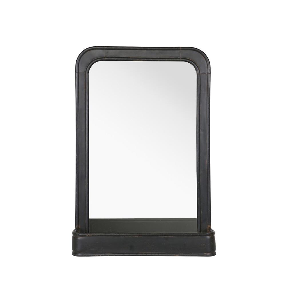 Miroir suspendu m tal avec rangement speachless by drawer - Miroir suspendu porte ...