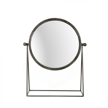 Miroir à poser industriel métal Hi