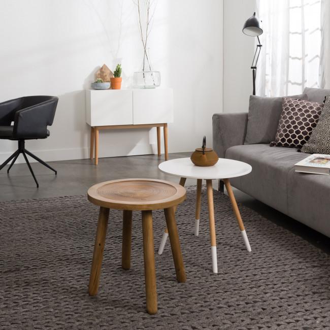 Table d'appoint ronde bois Ø43 Dendron