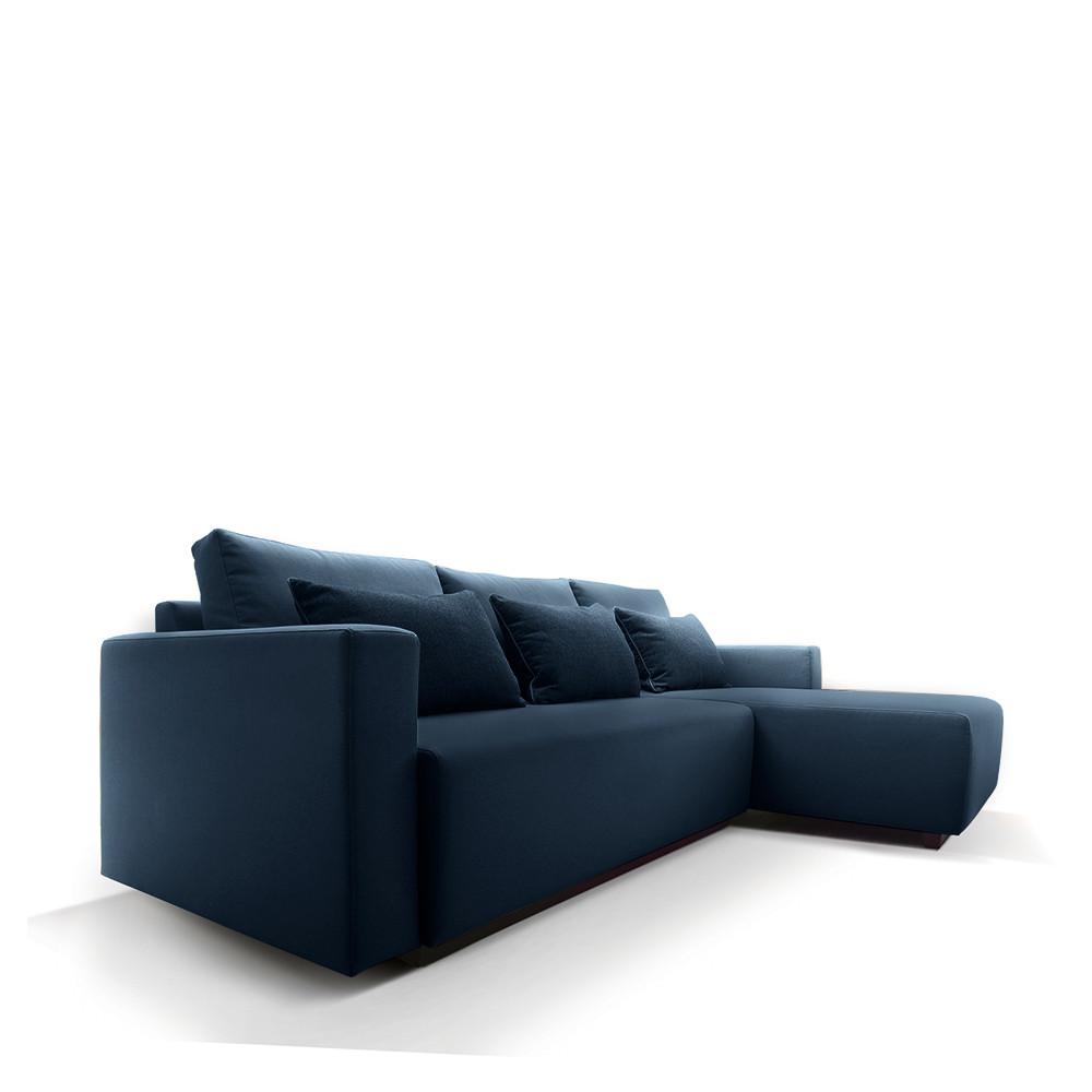 canap d 39 angle droit convertible avec rangement perfetto. Black Bedroom Furniture Sets. Home Design Ideas