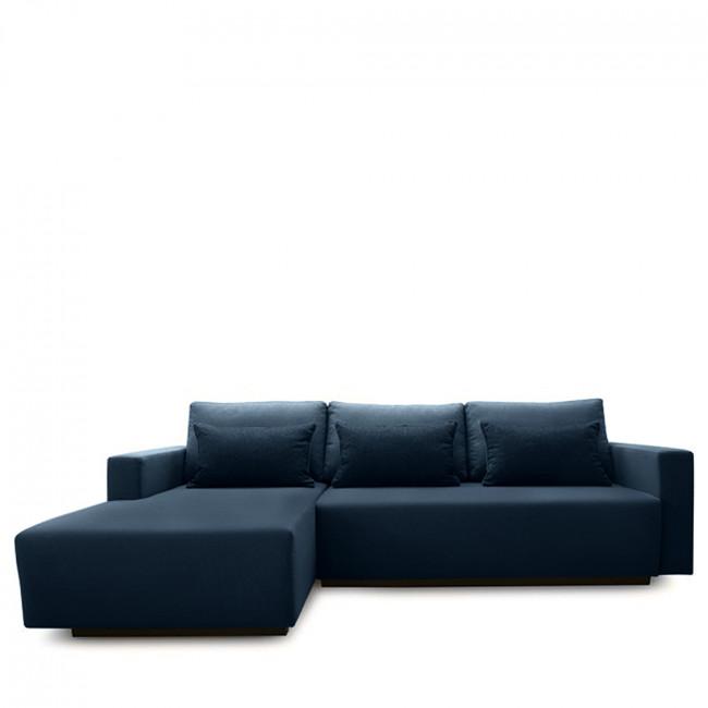 Canapé d'angle gauche convertible et rangement Perfetto