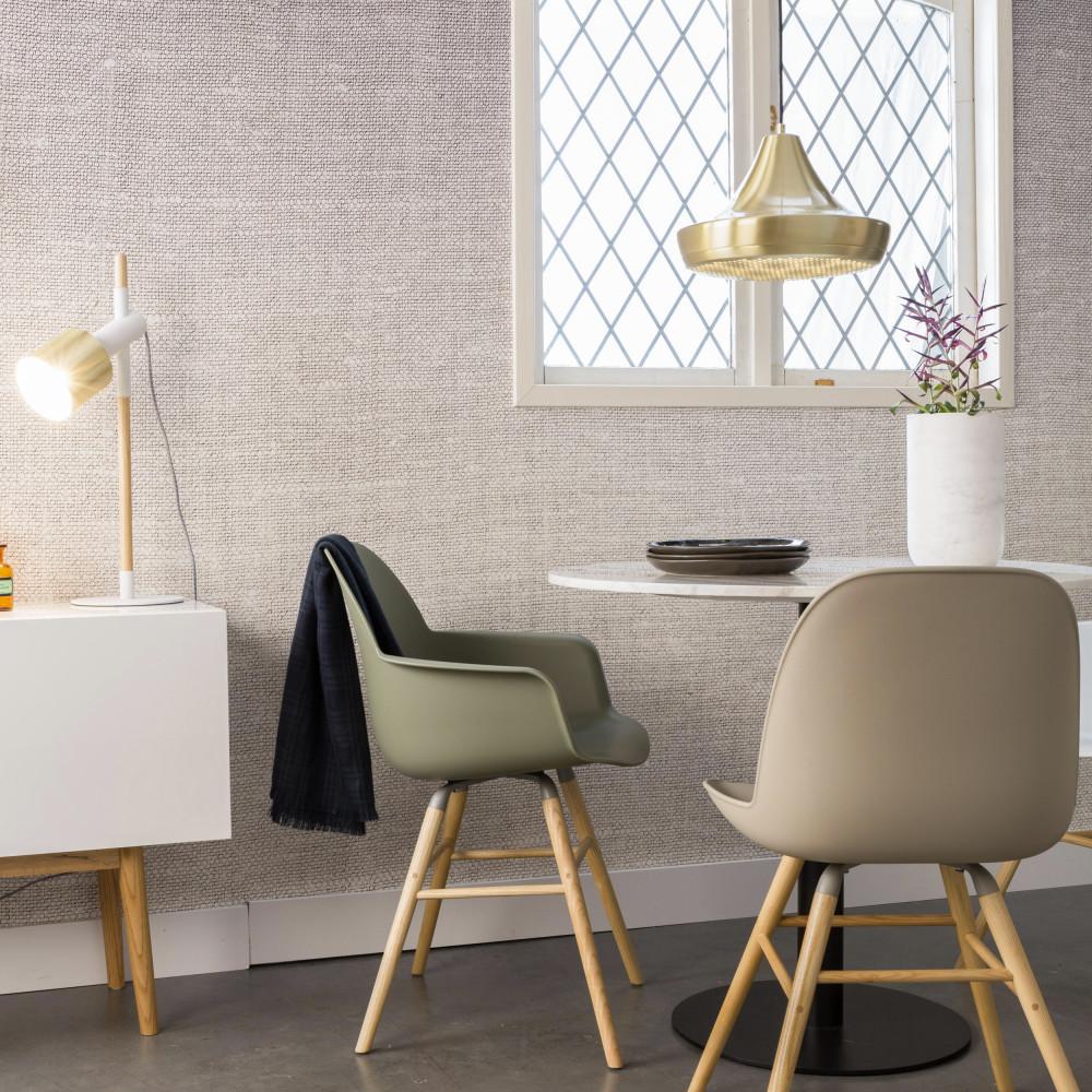 lampe poser cuivre bois et m tal pole by drawer. Black Bedroom Furniture Sets. Home Design Ideas