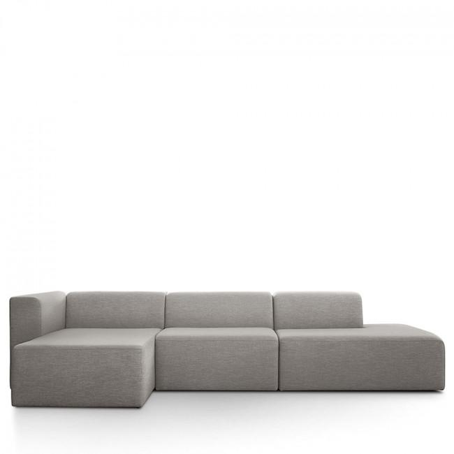 Canapé d'angle gauche tissu Kixx