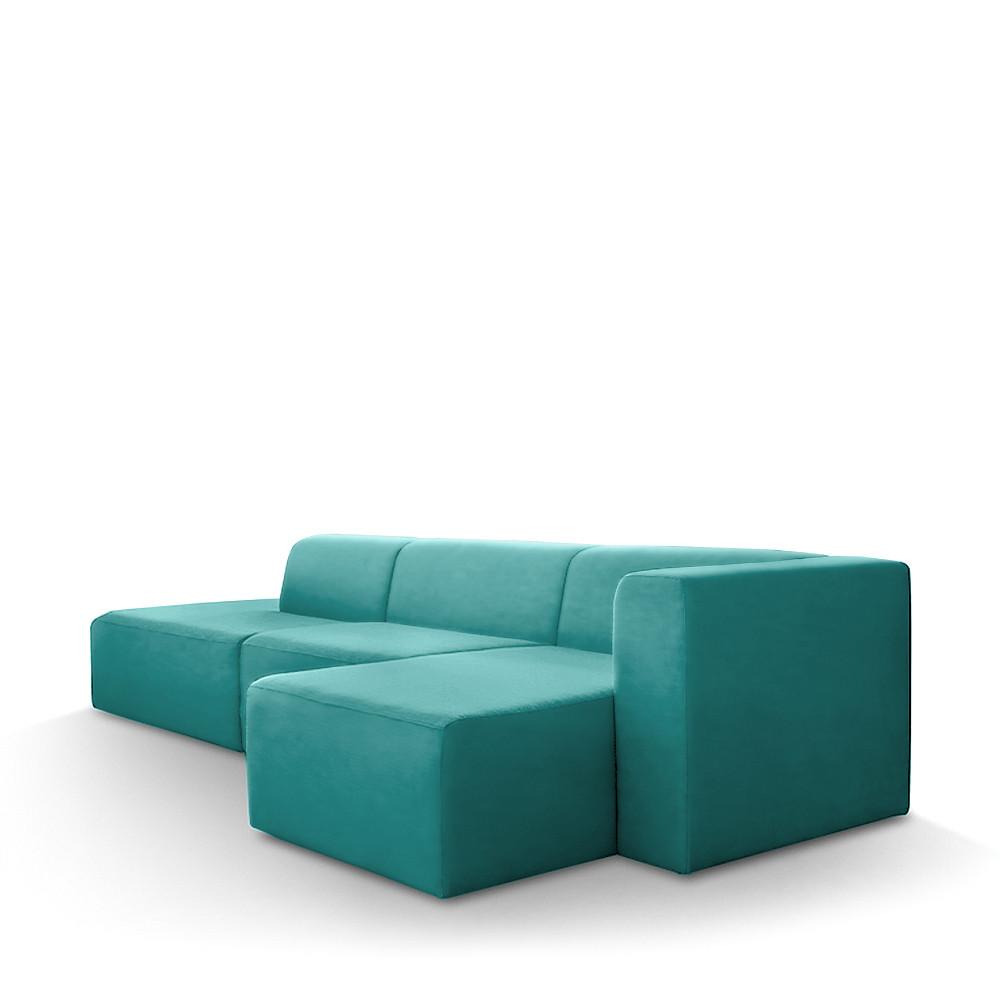 canap d 39 angle droit tissu kixx drawer. Black Bedroom Furniture Sets. Home Design Ideas