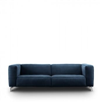 Canapé 2,5 places cuir et pieds métal Montreal