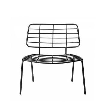 Chaise lounge design métal Mesh Bloomingville