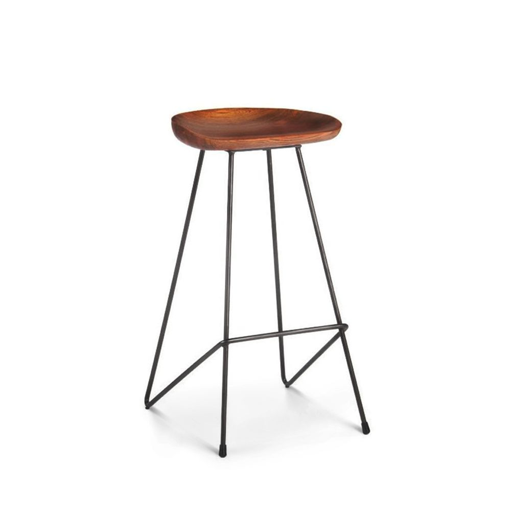 Tabouret bois métal Winton by Drawer # Tabouret De Bar Bois Metal