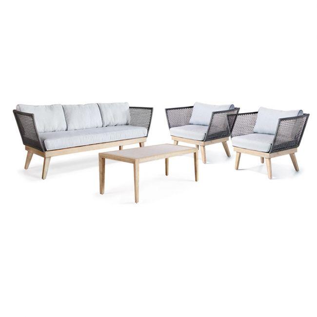 salon de jardin lounge en bois m kong drawer. Black Bedroom Furniture Sets. Home Design Ideas