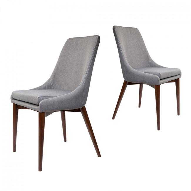 chaises en tissu juju x2 par drawer. Black Bedroom Furniture Sets. Home Design Ideas