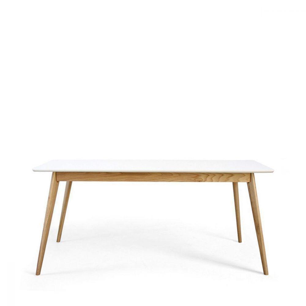 Grande table manger inspiration scandinave skoll par drawer - Table a manger en bois ...