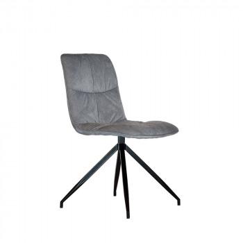 Chaise design en tissu Spider