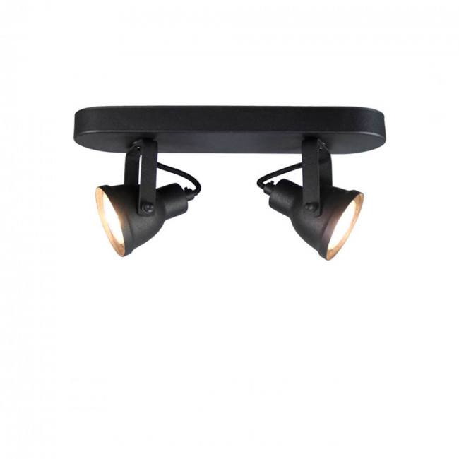 Applique/plafonnier métal M WUK Noir