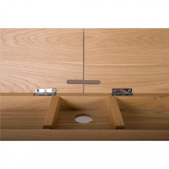 Bureau chêne 2 tiroirs Washburn
